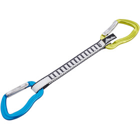 AustriAlpin Rockit Set Snapgate 20cm, blue-yellow anodized